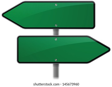 Choice Options Road Sign