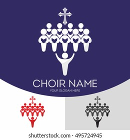 Choir Christian Church. Worship God. Music Ministry.