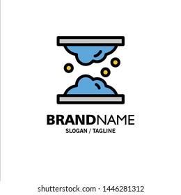 Cholesterol, Dermatology, Lipid, Skin, Skin Care, Skin Business Logo Template. Flat Color