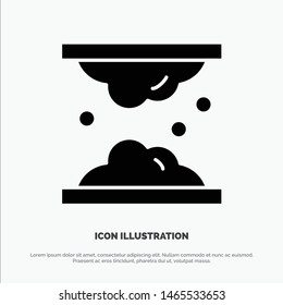 Cholesterol, Dermatology, Lipid, Skin, Skin Care, Skin solid Glyph Icon vector. Vector Icon Template background