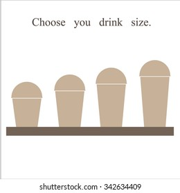 choose you drink size