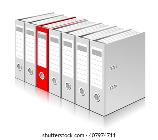 Choosing the right folder with documents