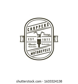 Choppers Badges Classic Motorcyccle Logo