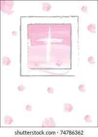 christening invitation for a girl