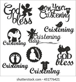 christening vector