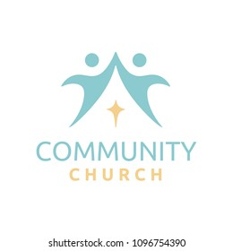 Christian Church Community Logo design inspiration