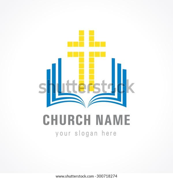 Image Vectorielle De Stock De Logo Vectoriel Crucifixion