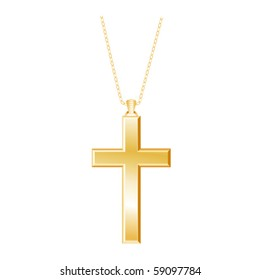 Cross Necklace Images, Stock Photos & Vectors | Shutterstock