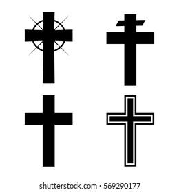 Christian cross variations