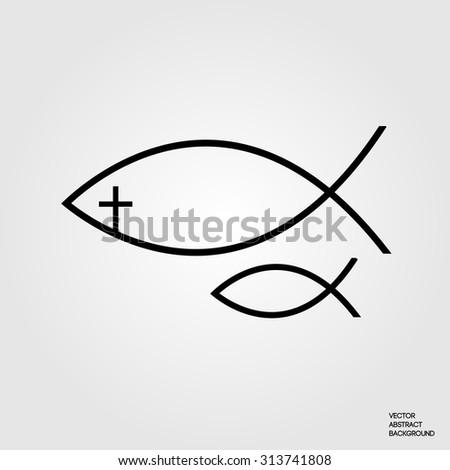 Christian Fish Christian Symbol Christianity Christian Stock Vector