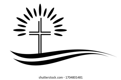 christian religion graphic in vector quality