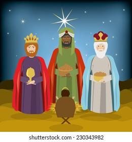 Christianity design over landscape background,vector illustration
