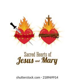 Christianity design over white background, vector illustration