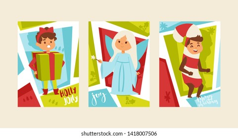 Christmas Party 2019 Clipart.Kids Christmas Party Poster Images Stock Photos Vectors