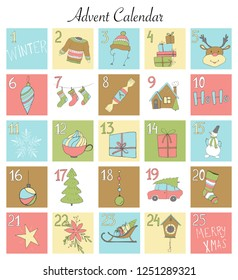 photo about Advent Calendar Numbers Printable referred to as Arrival Figures Printable Inventory Vectors, Visuals Vector Artwork