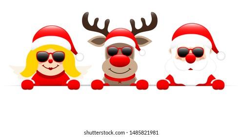 Skull Santa T Shirt Face Merry Christmas Skeleton Santa Gift Snowman Reindeer
