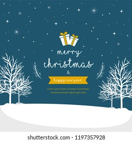Christmas background design vector illustration