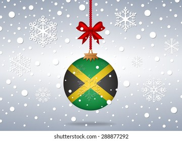 Christmas background Jamaica