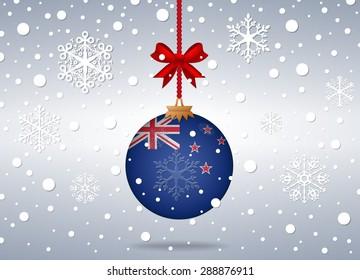 christmas background new zealand