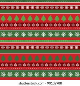 Christmas background, wrapping paper