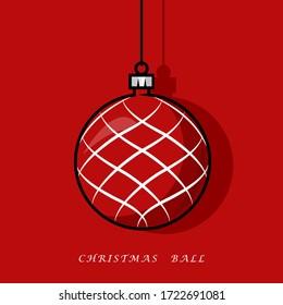 Christmas Ball Design Vector Ball