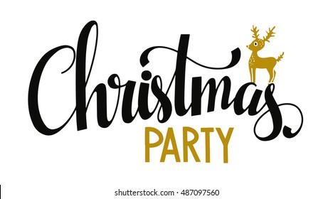 Christmas Party 2019 Logo.Christmas Party Logo Images Stock Photos Vectors