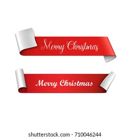 Christmas banners. Vector illustration.