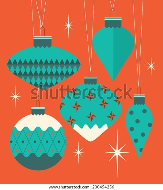 christmas bauble/ornament vector/illustration