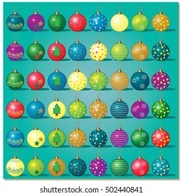 Christmas Baubles Pack