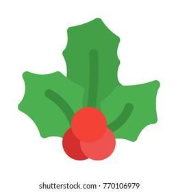 Christmas berry misletoe