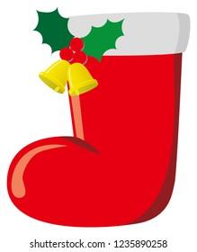 Christmas Boots Illustration
