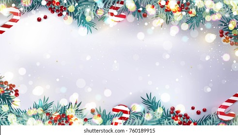 Christmas Borders Images, Stock Photos & Vectors | Shutterstock