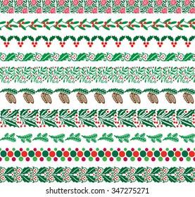 christmas border patterns