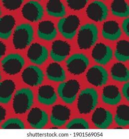 Christmas Brush stroke fur pattern design for fashion prints, homeware, graphics, backgrounds
