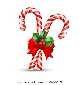 Christmas Candy Cane.Candy Canes Bow Images Stock Photos Vectors Shutterstock