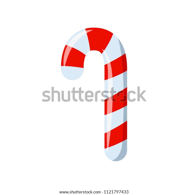 christmas candy icon vector