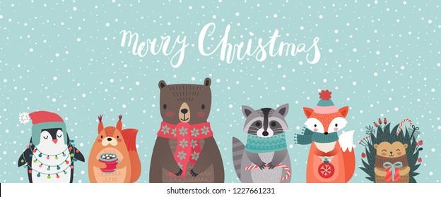 Winter Bear Cute Stock Illustrations Images Vectors