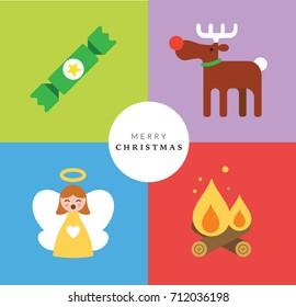 Christmas Card Set IV