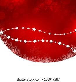 Christmas card - vector