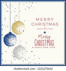 Christmas Card vector graphic