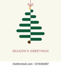 Christmas card vector graphic 3