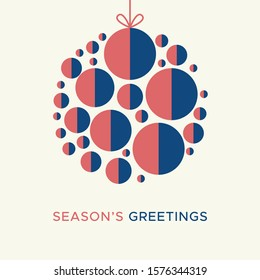 Christmas card vector graphic 5