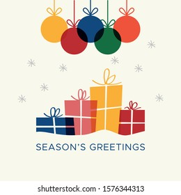 Christmas card vector graphic 6