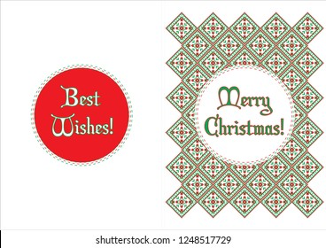 Christmas cards - traditional motifs