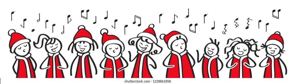Christmas Caroling.Caroling Images Stock Photos Vectors Shutterstock
