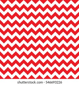Christmas chevron pattern seamless background texture in red.