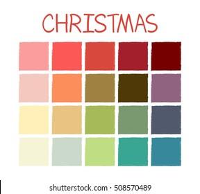 Christmas Picture Color Schemes.Christmas Color Palette Images Stock Photos Vectors