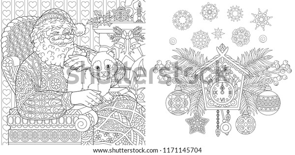 Animals coloring pages for kids: A Funny Coloring Pages, Christmas ... | 316x600