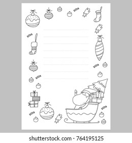 Kids Santa Letter Images Stock Photos Vectors Shutterstock
