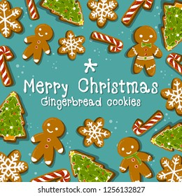 Christmas Cookie Ginger Bread CandyCane